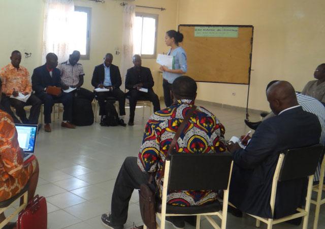 Séminaire du Réseau Education et Solidarité, Ouagadougou, le 29 Octobre 2015
