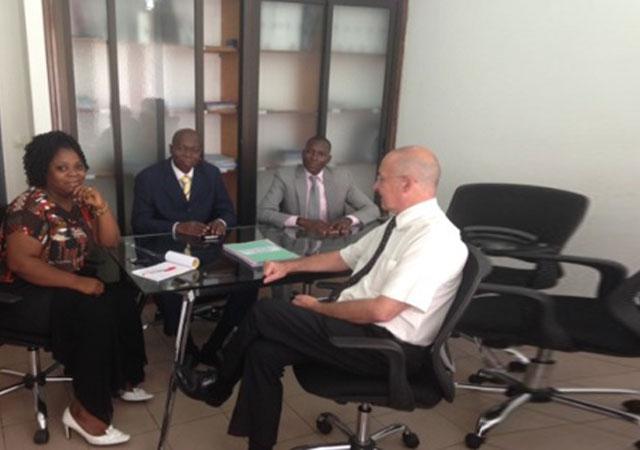 Les dirigeants de la Mutuelle des agents de l'administration des douanes du Burkina Faso ont été reçus au siège du PASS, le 02 Décembre 2015