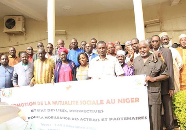 Niamey du 07 au 08 décembre 2015 : l'Atelier de promotion du mouvement mutualiste nigerien a permis d'enclencher le processus de création d'une faîtière mutualiste nationale.