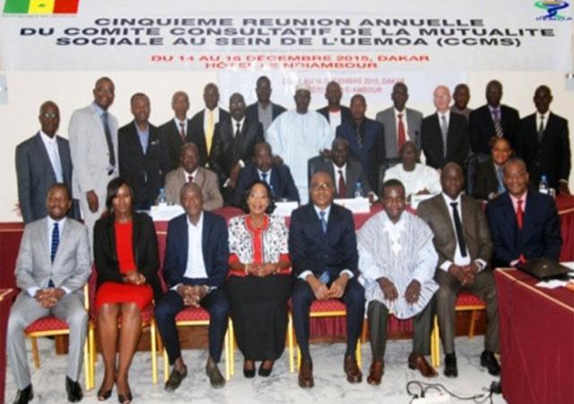 Le PASS a eu l'honneur de participer à la 5ème réunion du Comité Consultatif de la Mutualité sociale au sein de l'UEMOA (CCMS), du 14 au 16 décembre 2015 à Dakar