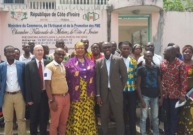 Secteur informel ivoirien : le projet de création de mutuelle des artisans entre dans sa phase active