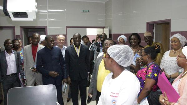 L'AIM visite un hôpital mutualiste