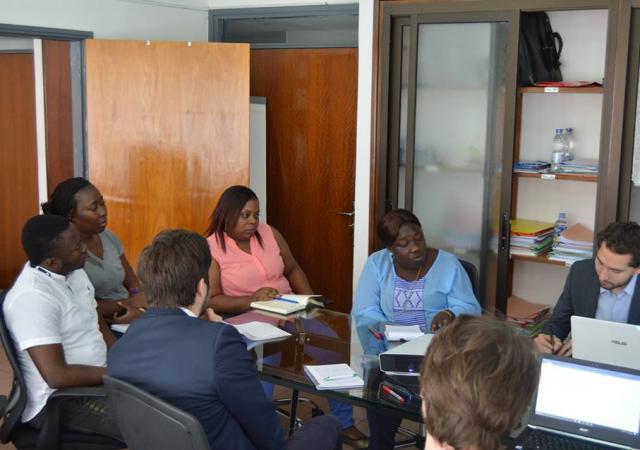 Une mission d'Expertise France au siège du PASS - 02 au 04 Novembre 2016 Abidjan (Côte d'Ivoire)