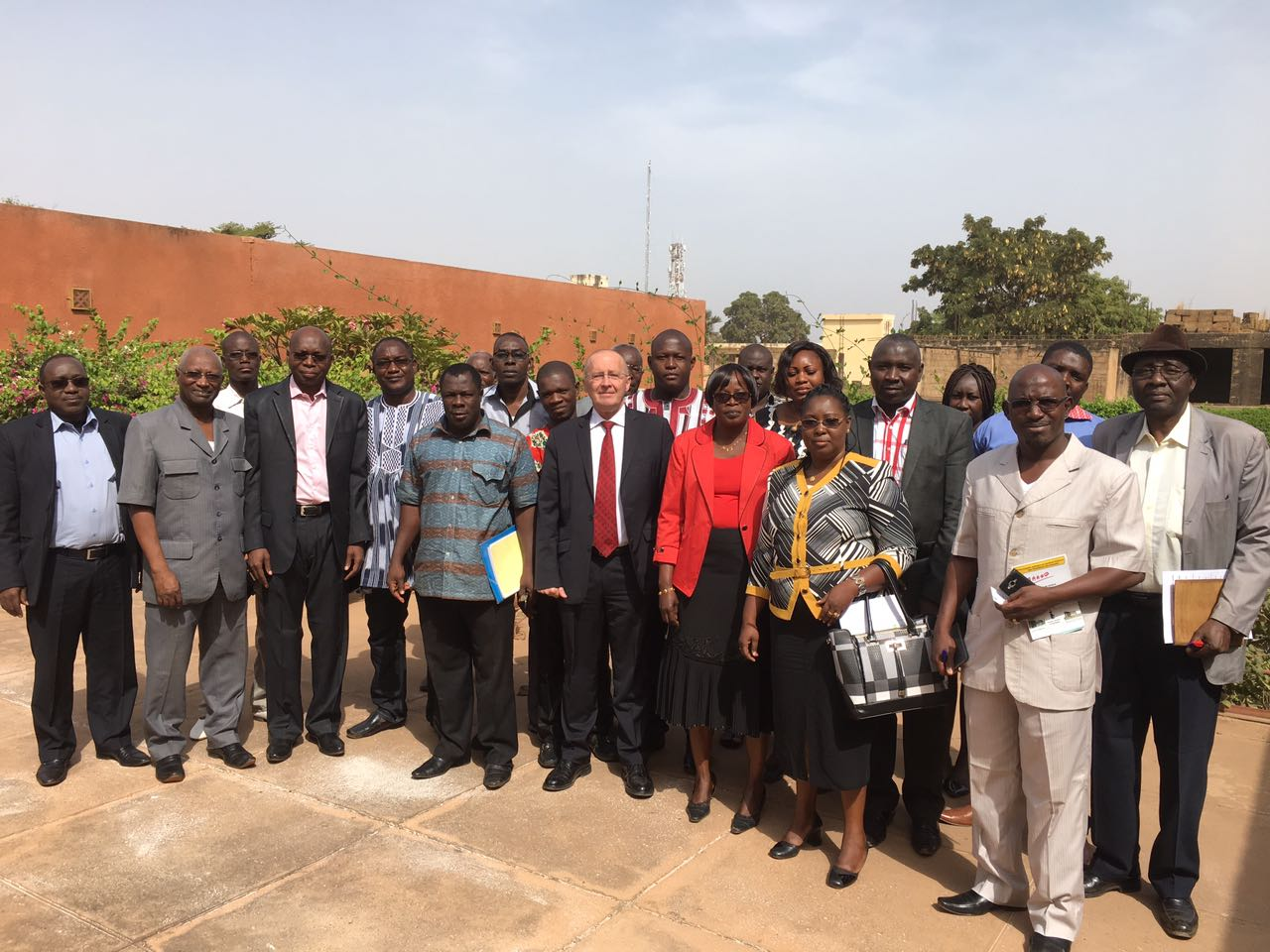 Le PASS a organisé une formation à l'endroit de la fédération des mutuelles professionnelle du Burkina - 14 Décembre 2016 à Ouagadougou