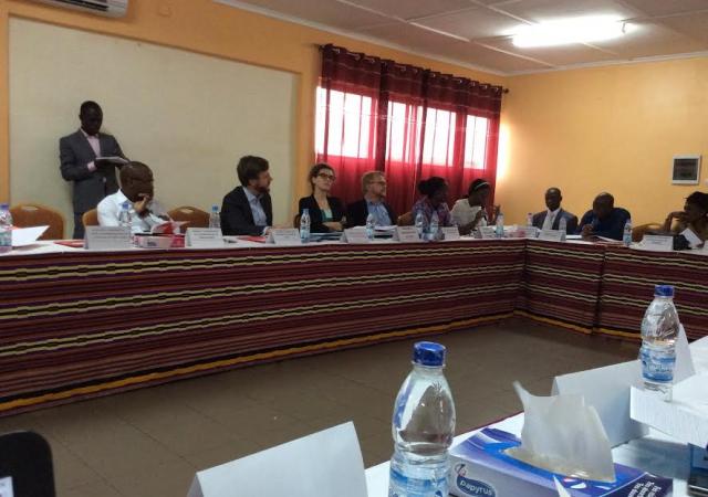 Présentation du bilan du projet de promotion de mutuelles de santé au profit des planteurs et du secteur informel et agricole de la région des Lacs - 23 Mars 2017 à Yamoussoukro