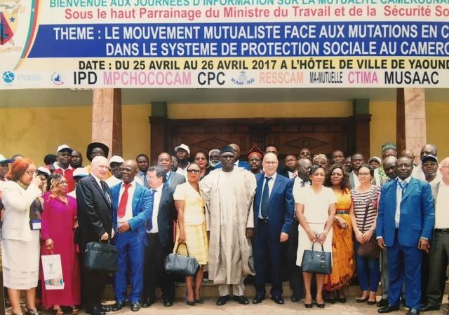 Un grand succès pour la première édition des Journées d'information de la mutualité au Cameroun - 25 au 26 Avril 2017 à Yaoundé