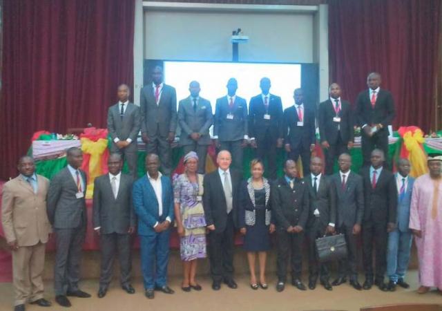 Le PASS sensibilise les élèves de l'Enam du Cameroun - 28 Avril 2017