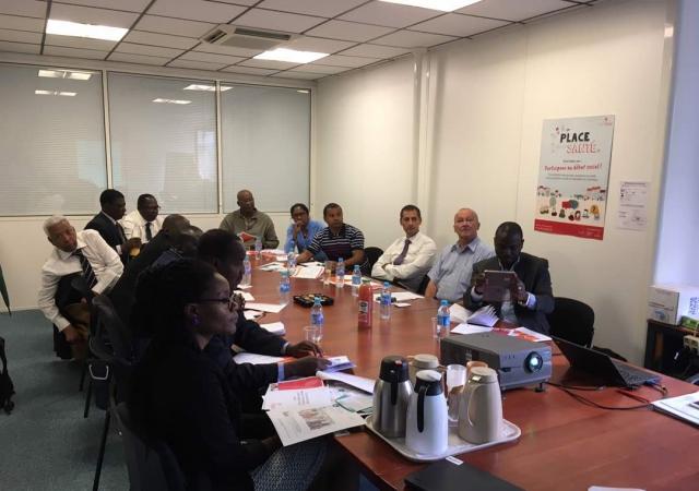Pass aux cotés d'une délégation africaine à la FNMF - 18 Mai 2017