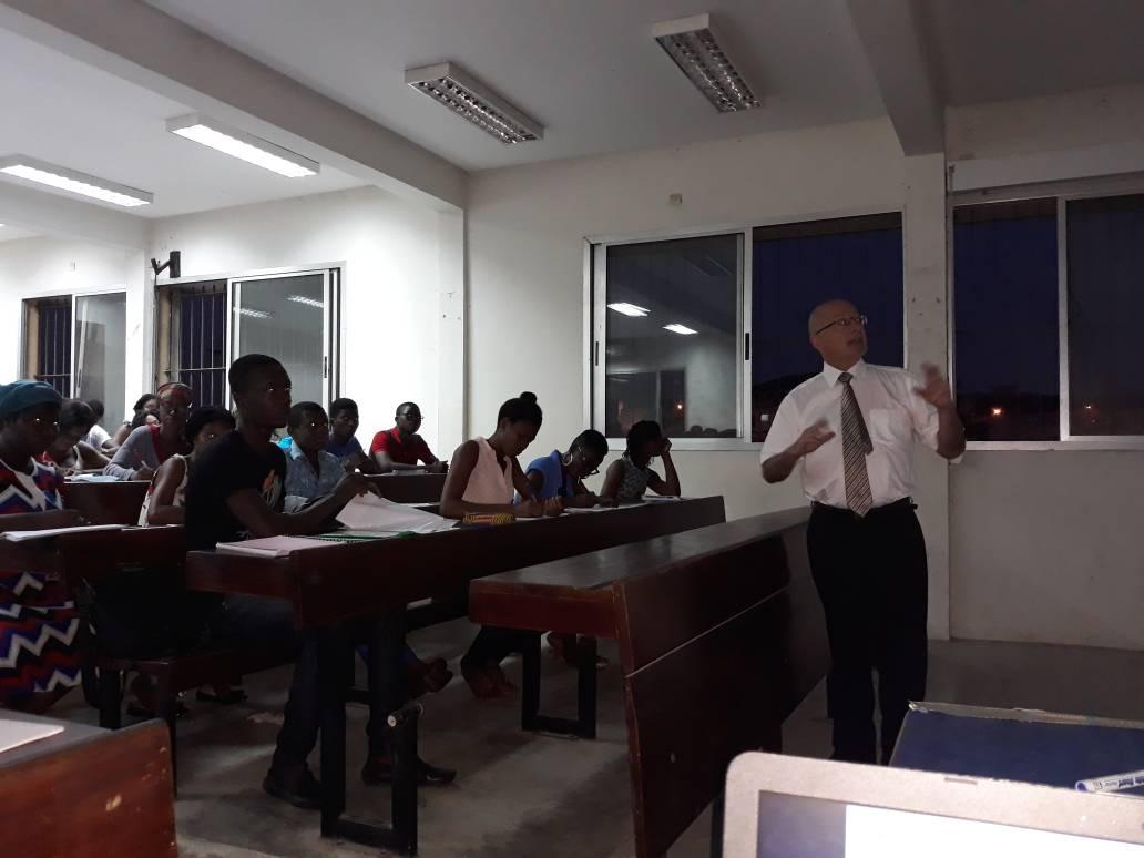 Les étudiants de l'Université Felix Houphouet Boigny sensibilisés à la mutualité - 02 Novembre 2017 à Abidjan (Côte d'Ivoire)