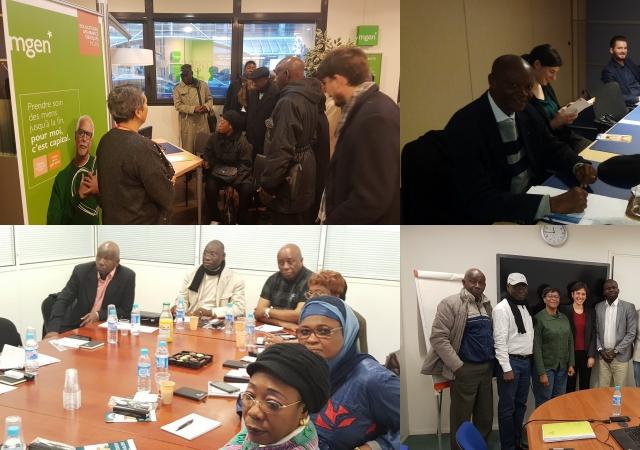 Les autres visites de la délégation africaine à Paris - 22 au 23 Novembre à Paris