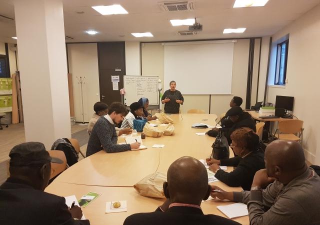 Visite à la Mutuelle Générale de l'Education Nationale (MGEN) - 21 Novembre 2017 à Paris