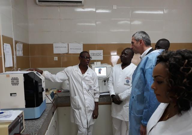 Visite de deux hôpitaux mutualistes ivoiriens - 24 Janvier 2018