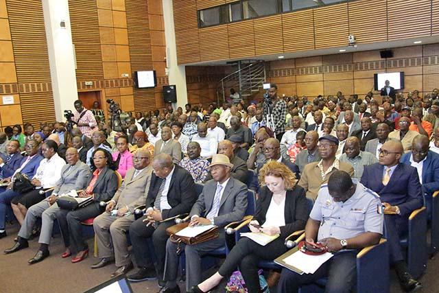 Plus de 300 mutualistes ivoiriens célèbrent la journée de la mutualité - 26 Février 2018 à Abidjan (Côte d'Ivoire)