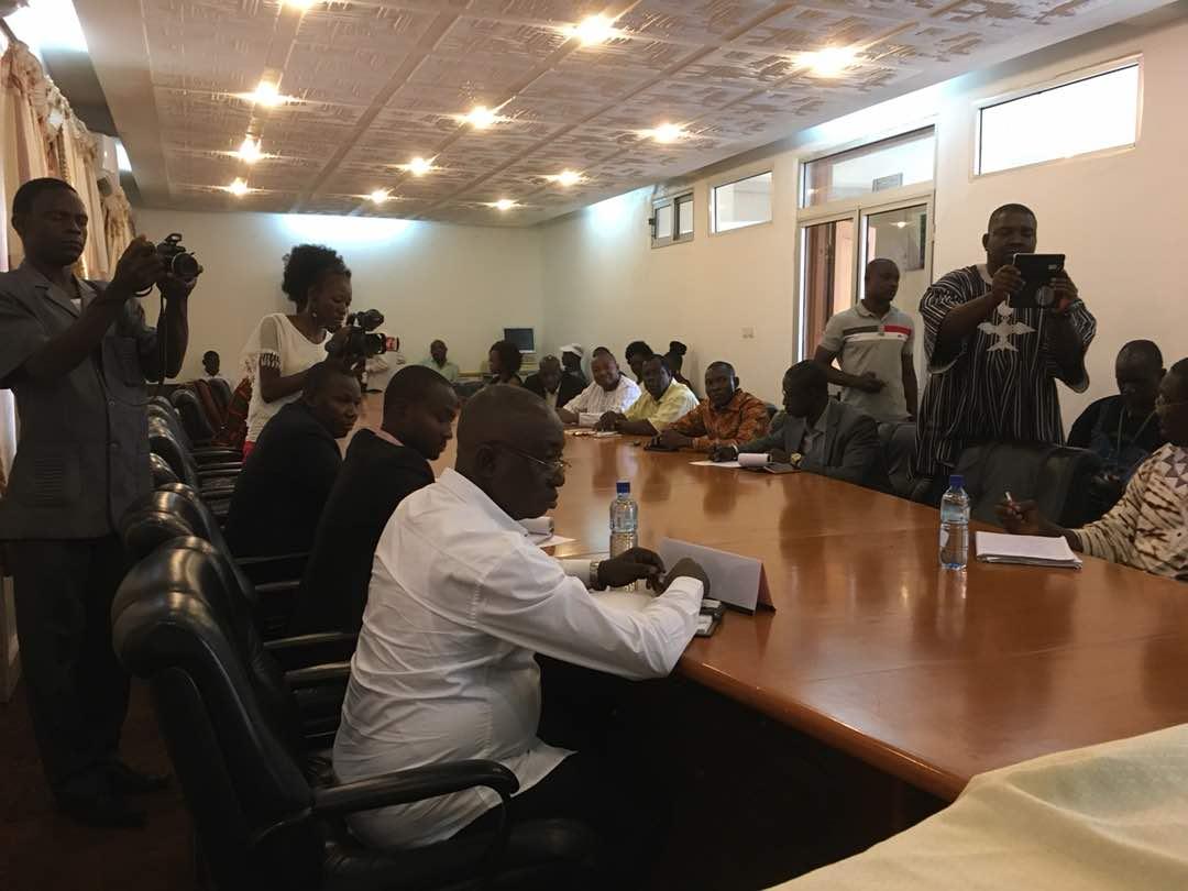 Thierry Beaudet encourage l'union entre les mutualistes du Burkina Faso - 28 Février 2018 à Ouagadougou (Burkina Faso)