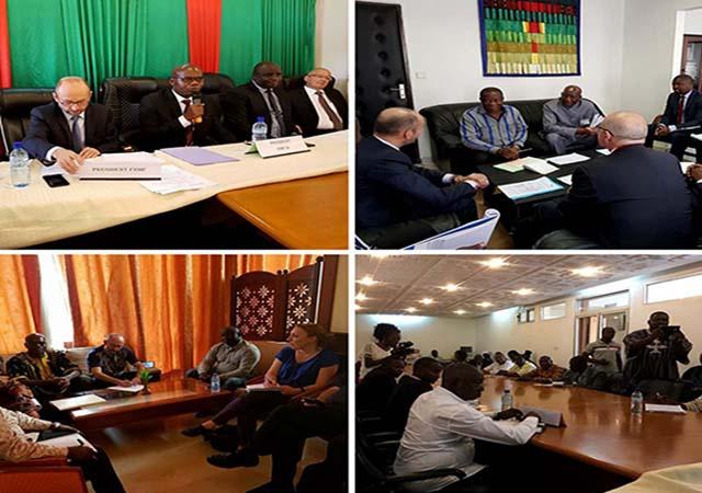 Des rencontres de haut niveau avec l'Uemoa, les autorités publiques et des syndicats d'enseignants - 27 au 28 Février 2018 à Ouagadougou (Burkina Faso)
