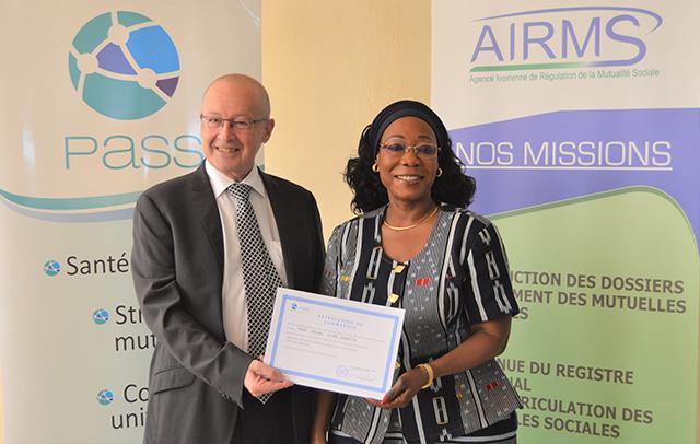L'Agence ivoirienne de régulation de la mutualité sociale renforce ses capacités sur la protection sociale - 29 Mars 2018 à Abidjan (Côte d'Ivoire)