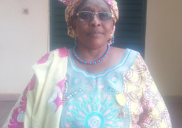 DEMBELE Fadima THIAM, Vice-Présidente de la MUTISE (Mutuelle Interprofessionnelle de Ségou) - Keneyaton de la Région de Ségou au Mali