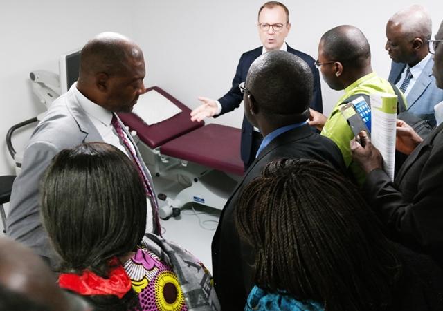 Visite des Services de Santé Mutualistes