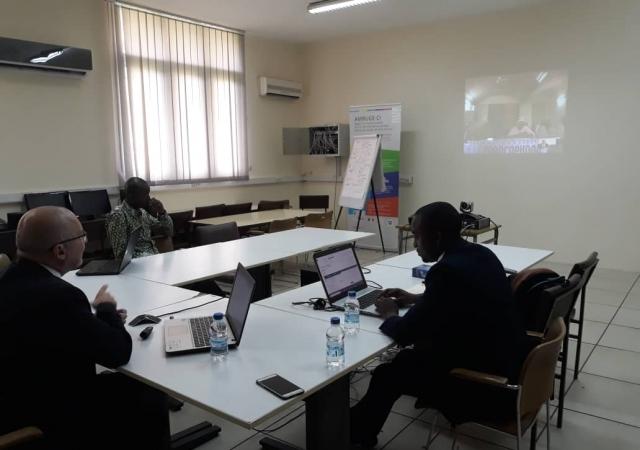 Premières sessions de formation à distance avec l'agence de régulation de la mutualité sociale du Niger - 03 et 24 Octobre 2018 à Abidjan (Côte d'Ivoire)