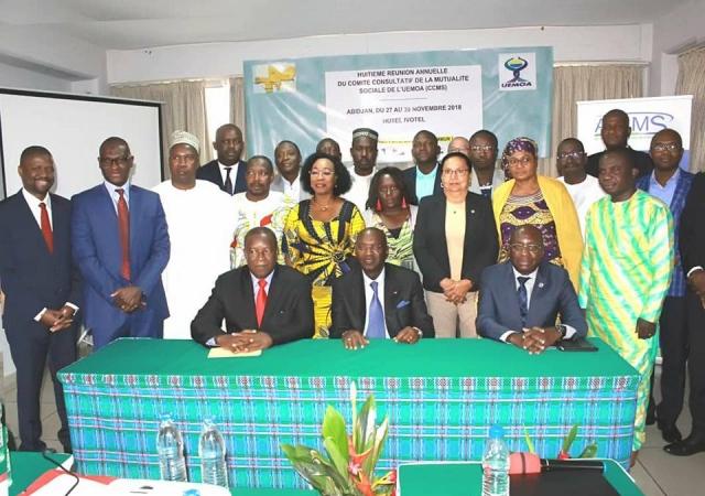 8è reunion du Comité Consultatif de la Mutualité Sociale de l'UEMOA - 27 au 29 Novembre 2018 à Abidjan (Côte d'Ivoire)