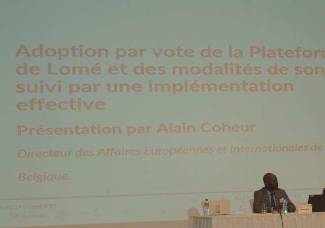 La plateforme de Lomé voit le jour