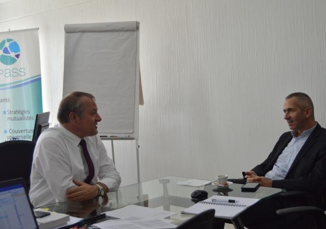 Yannick Lucas, Directeur des Affaires Publiques de la Mutualité Française en terre Ivorienne - 2 au 6 décembre 2019 à Abidjan (Côte d'Ivoire)