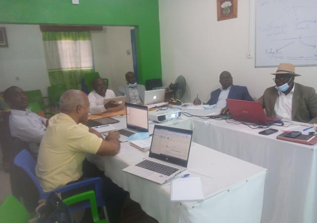 Le Pass et l'Institut universitaire du Sud réfléchissent à un projet autour de la santé environnementale - 21 septembre 2020 à Abidjan (Côte d'Ivoire)