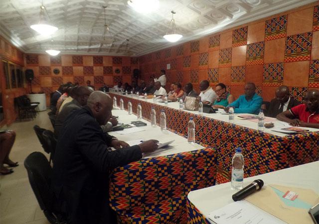 Assemblée générale de l'AMS-CI (Alliance des Mutuelles Sociales de Côte d'Ivoire), Abidjan le 15 Octobre 2015