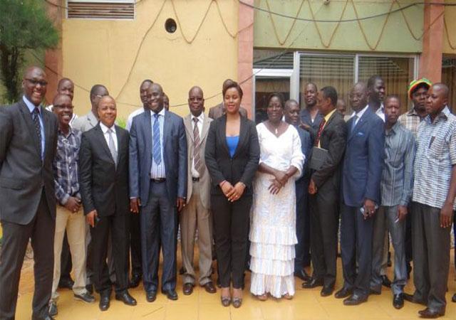 UAM-AFRO : mission du bureau élargi à Ouagadougou - 27 au 29 Juillet 2015 (Burkina Faso)