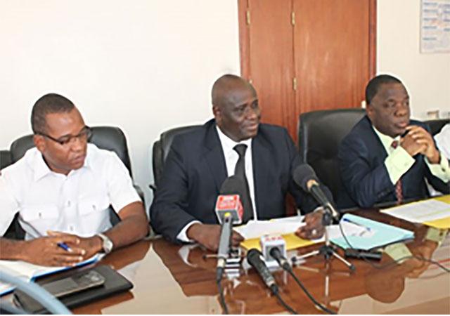 Conférence de presse du Bureau régional de l'Afrique de l'Ouest de l'Union Africaine de la Mutualité (UAM-AFRO) le 30 Janvier 2015 - Côte d'Ivoire
