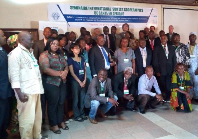 Séminaire organisé par la Conférence Panafricaine Coopérative (CPC) du 30 au 31 mai 2016 au Cameroun
