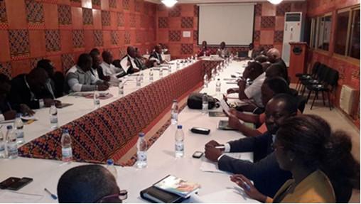 Assemblée générale de l'Alliance des Mutuelles Sociales de Côte d'Ivoire (AMS-CI) - 1er Septembre 2016