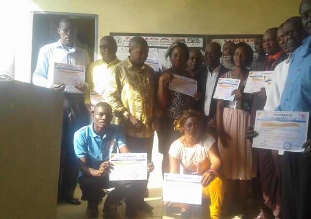 1er atelier de renforcement des capacités des acteurs mutualistes camerounais initié par L'IFOMAS - 16 au 18 novembre à Douala