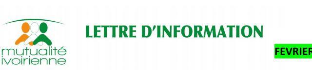 Lettre d'Information N°2 de la Mutualité Ivoirienne