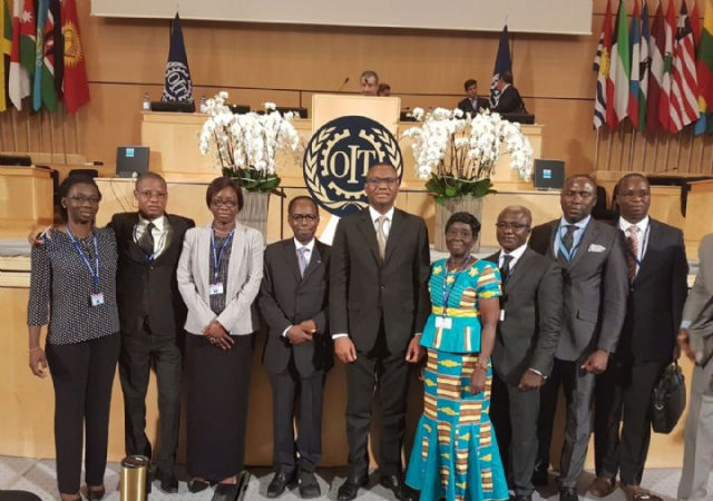 La Côte d'Ivoire élue au Conseil d'Administration de l'Organisation Internationale du Travail - 12 Juin 2017 à Genève (Suisse)