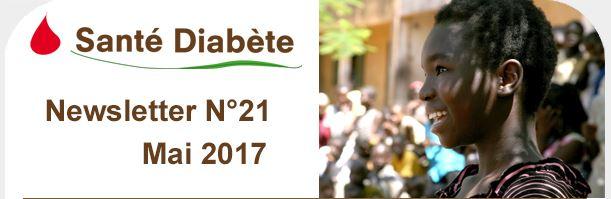 Newsletter Santé Diabète - Mai 2017