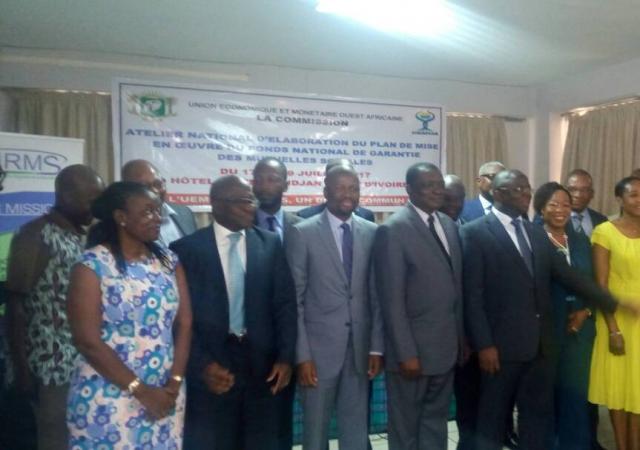 Atelier de réflexion sur la mise en place d'un fond de garantie pour les mutuelles de Côte d'Ivoire - 17 au 19 Juillet 2017 à Abidjan (Côte d'Ivoire)