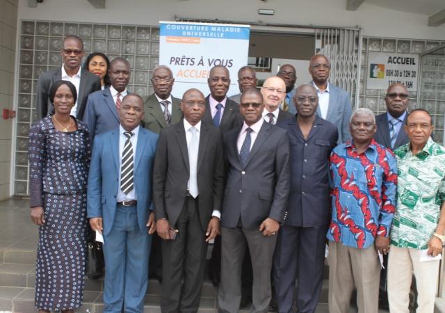 La MUTREPCI et la CNAM ensemble pour l'enrôlement des retraités à la CMU - 06 Septembre 2017 à Abidjan (Côte d'Ivoire)
