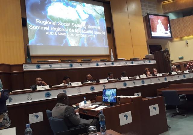Sommet régional de la sécurité sociale : écrire une nouvelle page sociale en Afrique - 23 au 25 Octobre 2017 à Addis-Abeba (Ethiopie)