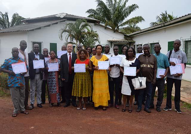 L'UNMCI et PASS forment les administrateurs de la MusaCNRA - 06 Octobre 2017 à Bimbresso (Côte d'Ivoire)