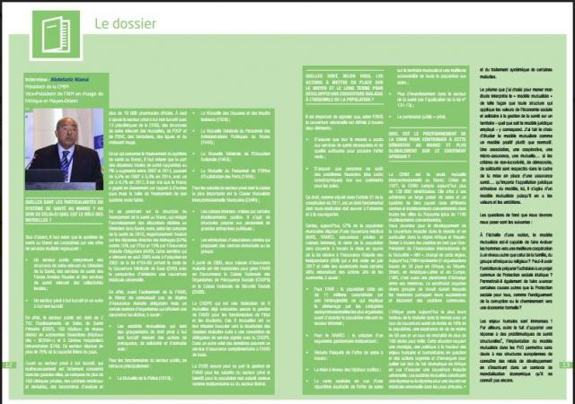 La revue du Club de Réflexion sur l'Avenir de la Protection Sociale (CRAPS) - Novembre 2017