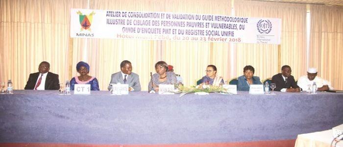 Les démunis au centre de la Couverture Santé Universelle au Cameroun - 21 février 2018 à Douala (Cameroun)