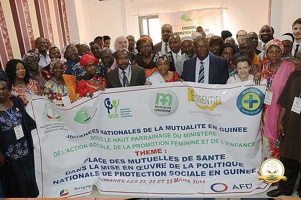 Les journées de la mutualité célébrées en Guinée - 21 au 23 Mars 2018 à Conakry (Guinée)