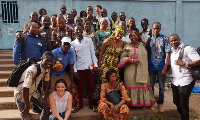 Un atelier collaboratif pour mobiliser davantage de jeunes au sein du mouvement mutualiste guinéen - 18 Mars 2018 à Conakry (Guinée)