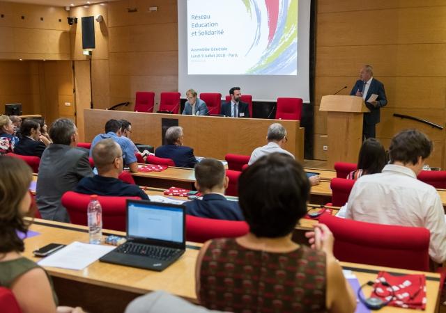 Le Réseau Education et Solidarité a tenu son Assemblée Générale le 09/07/18 à Paris