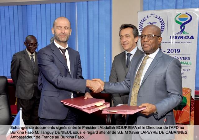 Coopération Afd/Uemoa : nouvel envol pour le Projet d'Appui à l'extension de la Couverture du Risque Maladie (PACRM) dans les États membres de l'Union - 25 Avril 2019 à Ouagadougou (Burkina Faso)