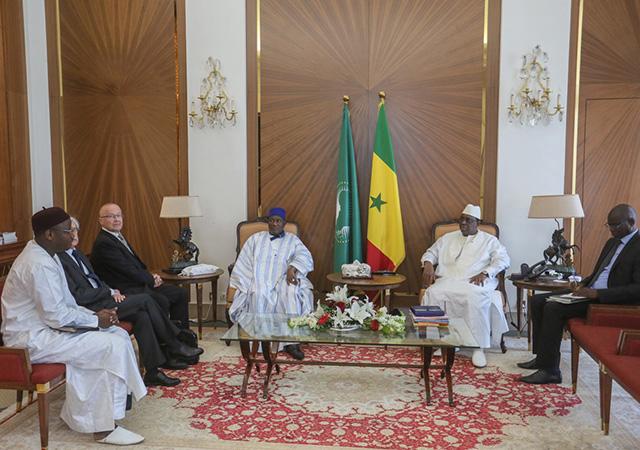 Audience auprès de Son Excellence Monsieur Macky Sall Président de la République du Sénégal - 19 Avril 2019 à Dakar (Sénégal)