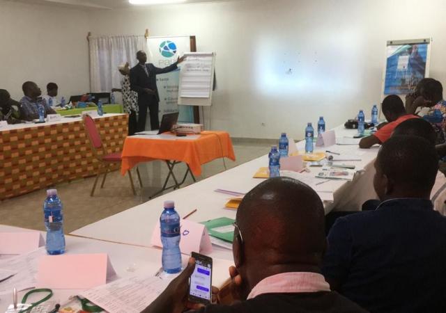 Atelier de formation avec les leaders de coopératives de cacao sur la mutualité - 03 et 04 Avril 2019 à Divo (Côte d'Ivoire)