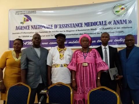 Ramed et Anam : éclairage sur la prise en charge médicale des indigents au Mali - 29 Mars 2019 à Bamako (Mali)