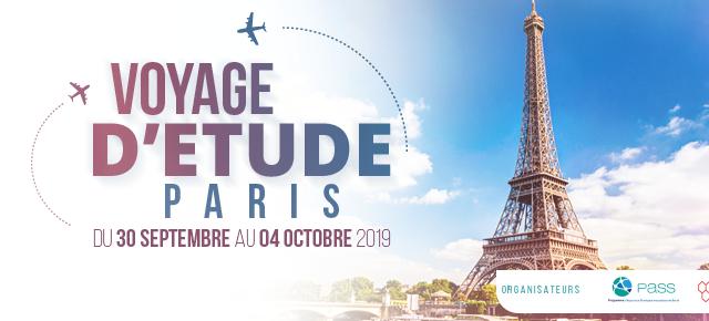 Inscrivez-vous à la 3ème édition du voyage d'étude des mutuelles à Paris 2019 jusqu'au 31 mai 2019